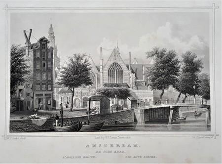 Amsterdam. Oude Kerk.