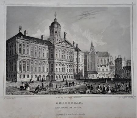 Amsterdam. Dam. Palace.