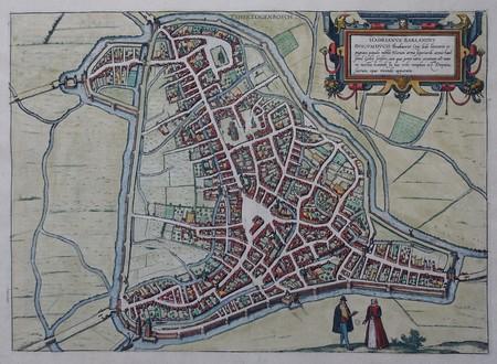 Den Bosch. Stadsplattegrond van 's-Hertogenbosch.