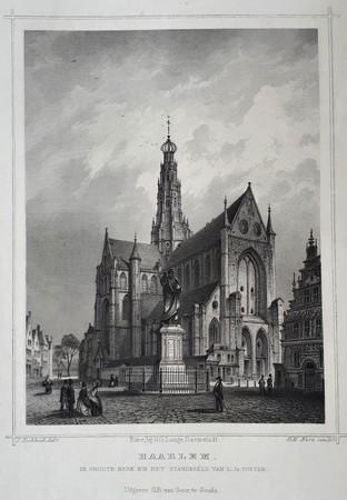 Haarlem. Groote church.