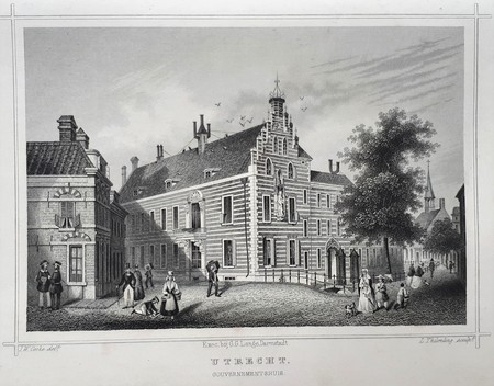 Utrecht. Gouvernementshuis.
