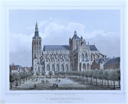's-Hertogenbosch. St. John's Cathedral.