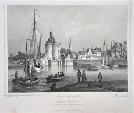 Enkhuizen. Buitenhaven.