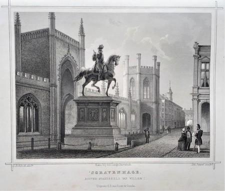 The Hague. Statue of William I