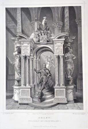 Delft. Praalgraf van Willem I