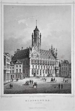 Middelburg. Stadhuis.