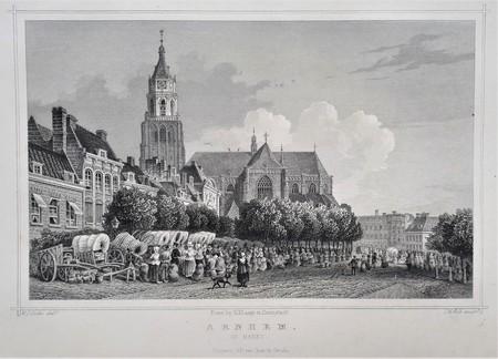 Arnhem. Markt.
