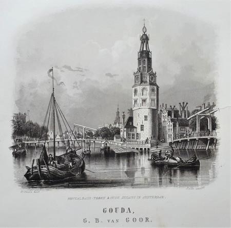 Amsterdam. Montelbaans tower.