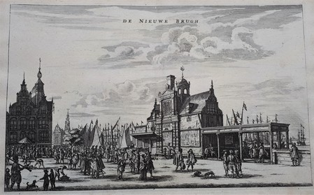Amsterdam. Prins Hendrikkade. Damrak.