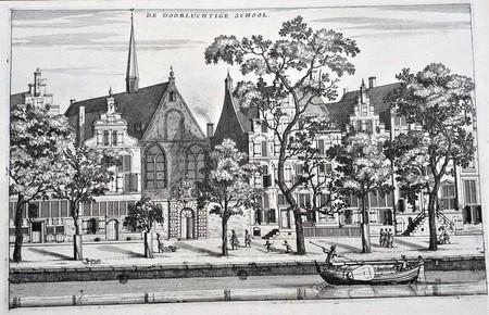 Amsterdam. Doorluchtige School. Agnietenkapel.