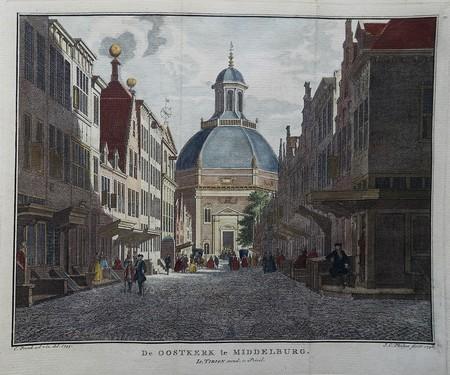 Middelburg. Oostkerk.