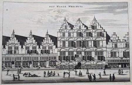 Amsterdam. Het Wale Wees-Huys, Laurierstraat