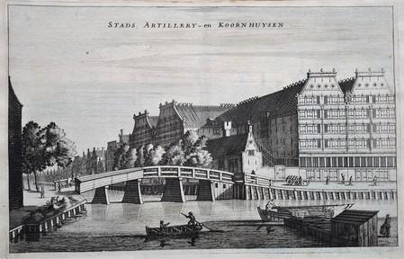 Amsterdam. Lijnbaansgracht; Brouwersgracht.