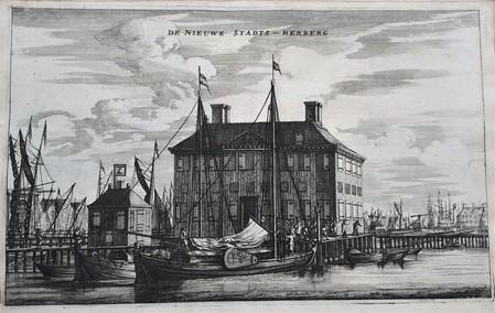 Amsterdam. Nieuwe Stadsherberg in Het IJ