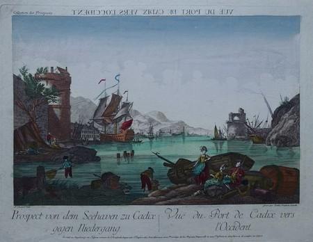 Spain. Cádiz. Harbor.
