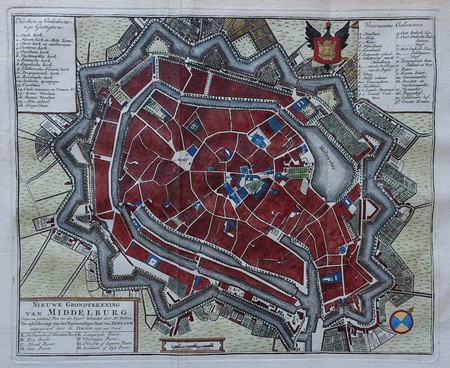 Middelburg. Plan of Middelburg.