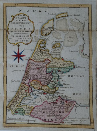 Holland. Noord-Holland. Departement van Texel.