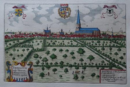 België. Torhout. Aanzicht van Torhout.