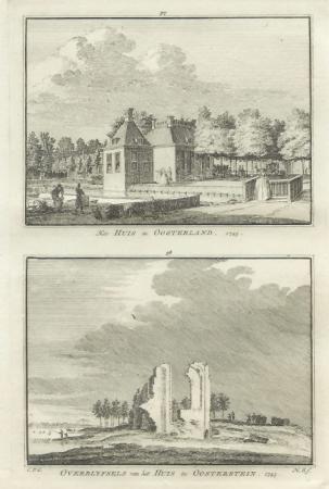 OOSTERLAND. Huis Oosterland en Oosterstein.