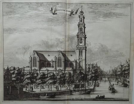Amsterdam. Westerkerk. (Western church).