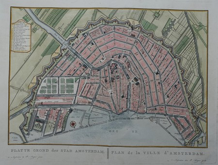 Amsterdam. Plan of the City