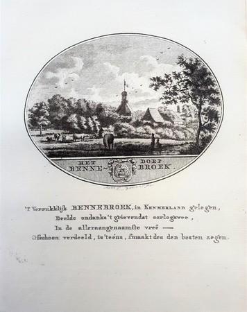 Bennebroek. View of the village.