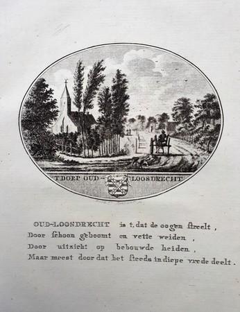 Oud Loosdrecht. Old Loosdrecht.