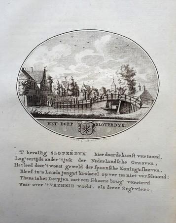 Sloterdijk (Amsterdam). Dorpsgezicht.