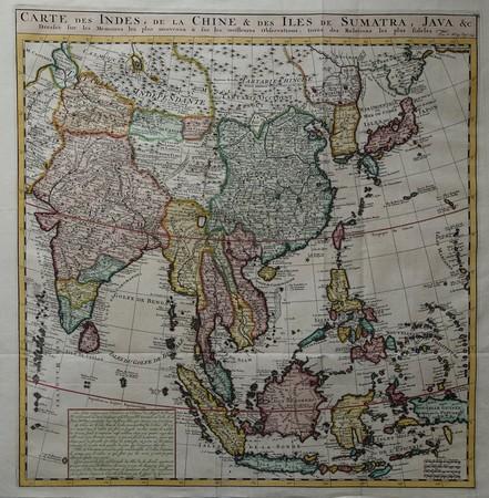 Southeast Asia. India. China. Japan.