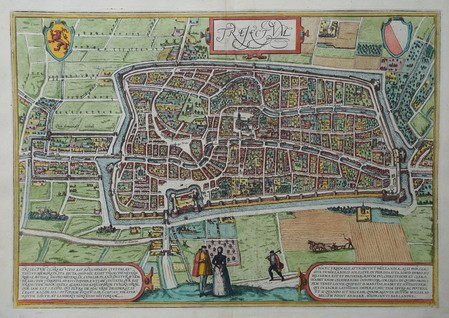 Utrecht. Bird's-eye plan