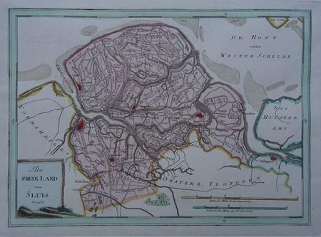 Zeeland. Western part Zeeuws-Vlaanderen.