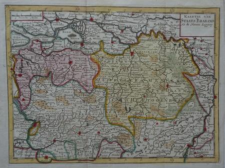 Brabant. Noord-Brabant (Staats-Brabant).