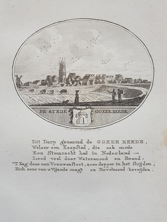 Goedereede. View of the town