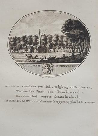 Heenvliet. View of the town
