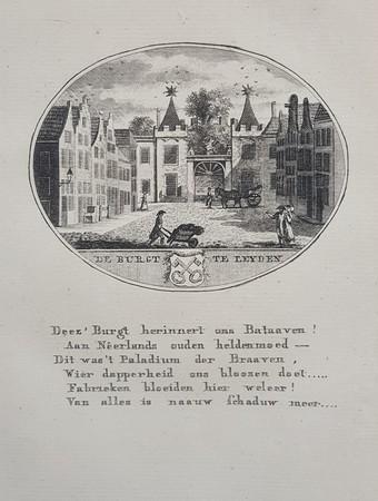 Leiden. Burcht