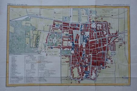 Den Haag ('s Gravenhage). Stadsplattegrond