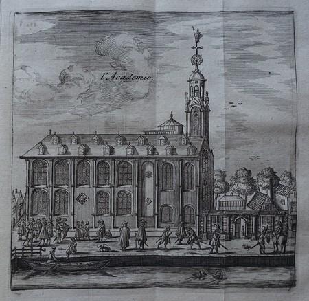Leiden. University. Academy building.