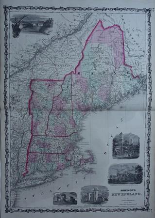 North America. USA. New England.
