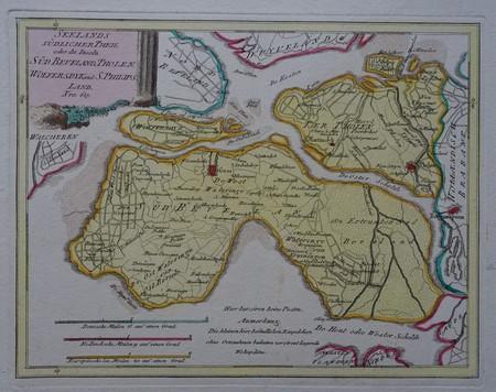 Zeeland. Zuid-Beveland en Tholen.