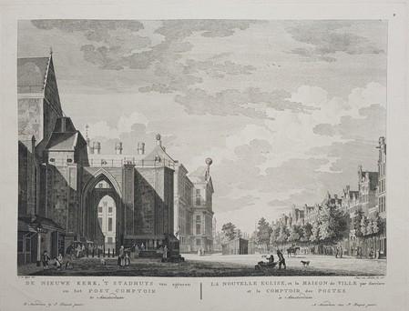 Amsterdam. Nieuwezijds Voorburgwal. City Hall.