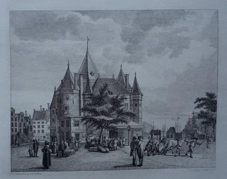 Amsterdam. Nieuwmarkt. Waag