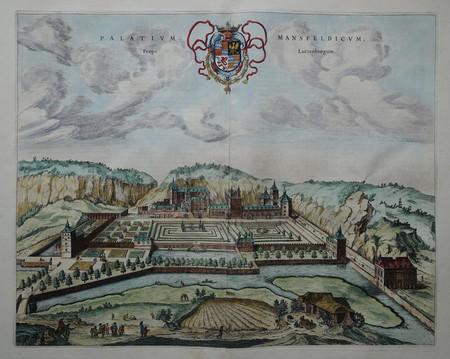 Luxemburg. Paleis La Fontaine (Mansfeld)