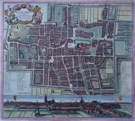 Den Haag. Plan of The Hague.