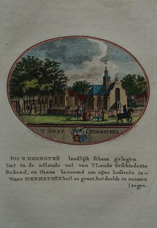 Heemstede. View of the village.