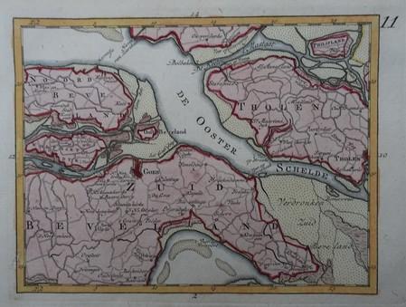 Zeeland. Zuid- en Noord-beveland, Tholen.