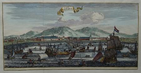 Indonesia. Batavia. (Jakarta). View.