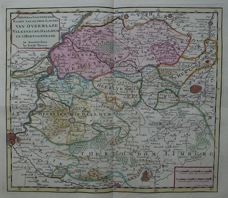 Limburg. Landen van Overmaze.
