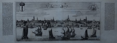 Amsterdam. Aanzicht vanaf het IJ.