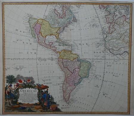 Amerika. Noord- en Zuid-Amerika.