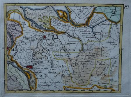 Brabant. Bergen op Zoom and surroundings